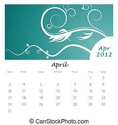 redemoinho, abril, calendário, videira, 2012