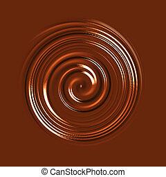 redemoinho, chocolate