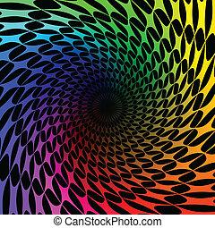 redemoinho, espectro