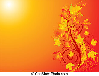 redemoinho, outono, backgroound