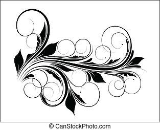 redemoinho, vetorial, desenho