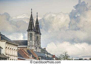 Redemptorists church in Tournai, Belgium. - The church of ...