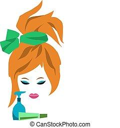 redhead, クリーム, 女, -1, 香水