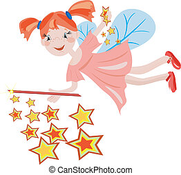 Redhead fairy.