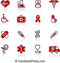 redico, &, /, brughiera, medicina, cura