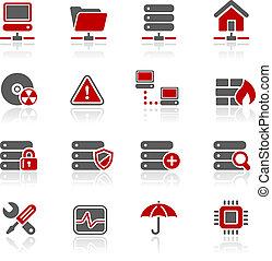 redico, netværk, og, hosting, /, server