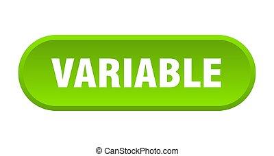 redondeado, fondo blanco, button., variable, señal