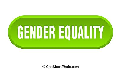 redondeado, género, igualdad, fondo blanco, button., señal