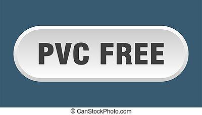 redondeado, pvc, libre, fondo blanco, button., señal
