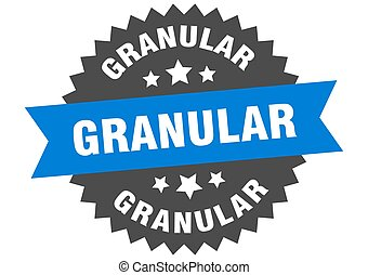 redondo, banda, pegatina, label., granular, signo., circular