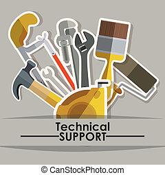 redskaberne, konstruktion