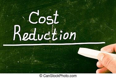 reducción, coste