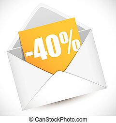Reduction of 40 percent