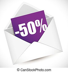 Reduction of 50 percent