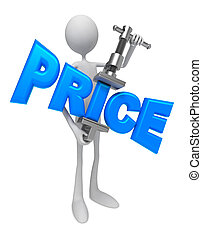 Reduction of Prices - Concept.