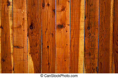 Redwood Fence Background 2