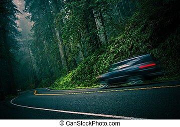redwood, rodovia