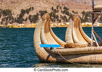 Reed Boat Closeup