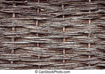 Reed fence