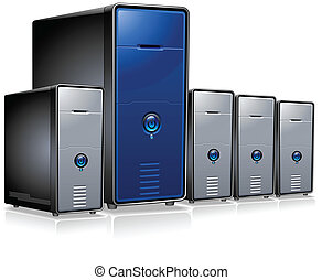 reeks, computer, servers