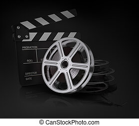 reel., klepać, film, kino