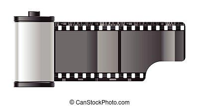 reel of film - reel of 35 mm photo film