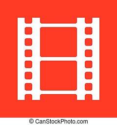 Reel of film sign