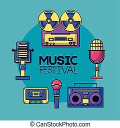festival music poster