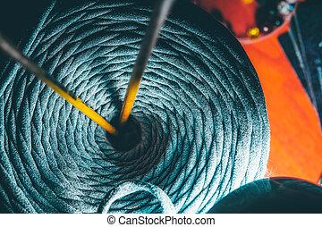 Reel thread