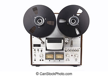 Audio Tape Recorder - REEl to REEl Audio Tape Recorder ...