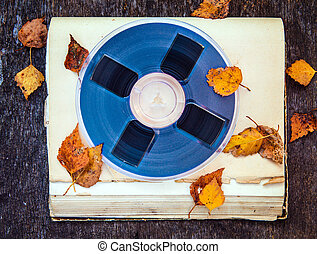 Reel to Reel Tape - Vintage Reel with a Tape and Autumnal ...