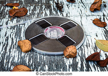 Reel to Reel Tape - Vintage Reel with a Tape on the Old ...