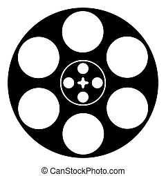 reel with film