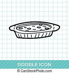 refeição, doodle