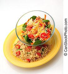 refeição saudável