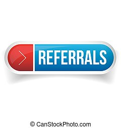 Referral button bubble