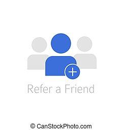 Referral program icon .