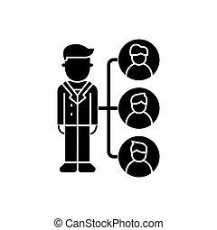 referrals - affilate marketing icon, vector illustration,...