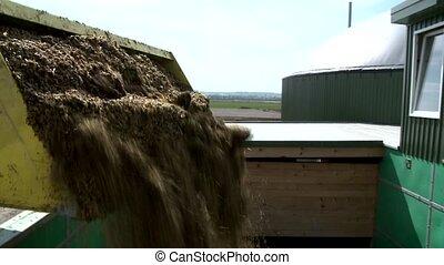 Refilling Biogas Plant