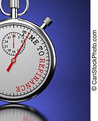 refinance, concept., tiempo