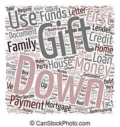 Refinance Mortgage Tips Down Payment With Gift Letter text ...