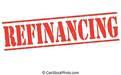 refinancing, bélyeg