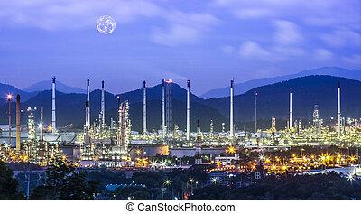 refinaria, industrial