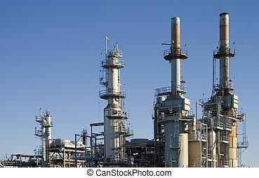 refinería de petróleo, 1