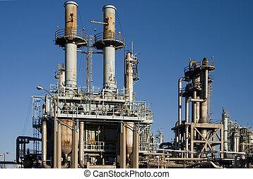 refinería de petróleo, 3