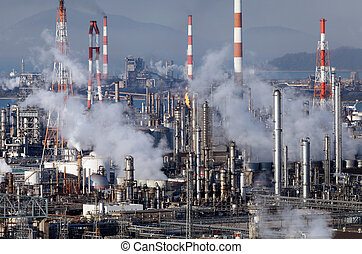 refinería, planta