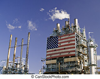 Refinery Complex - A part of a US refinery complex