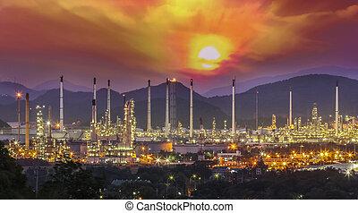 Refinery industrial