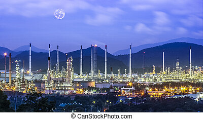 Refinery industrial