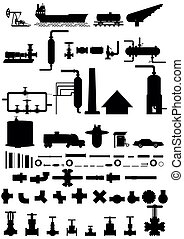 Refining industry. - Movement of oil from lifting to car and...